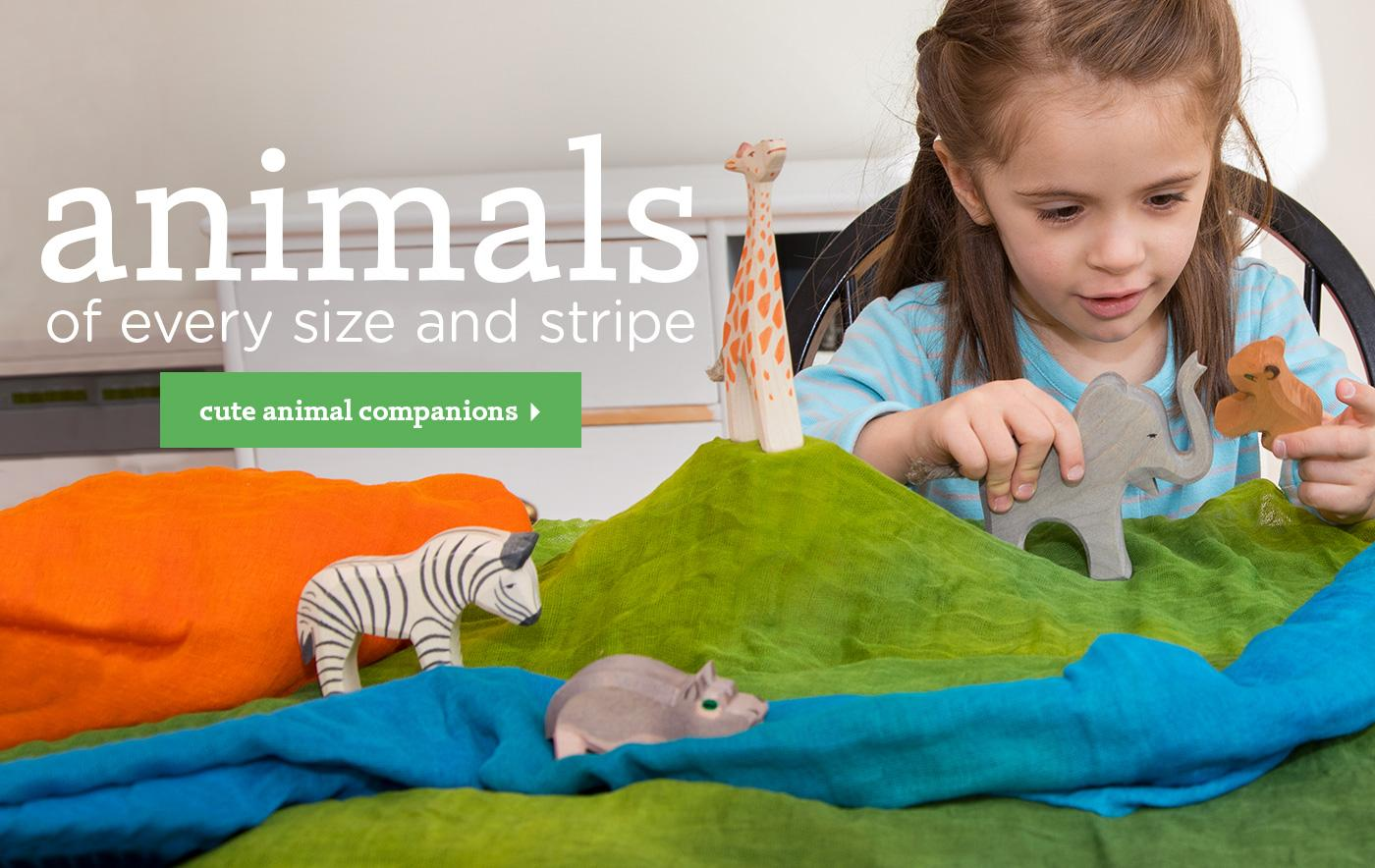 animals of every stripe and size