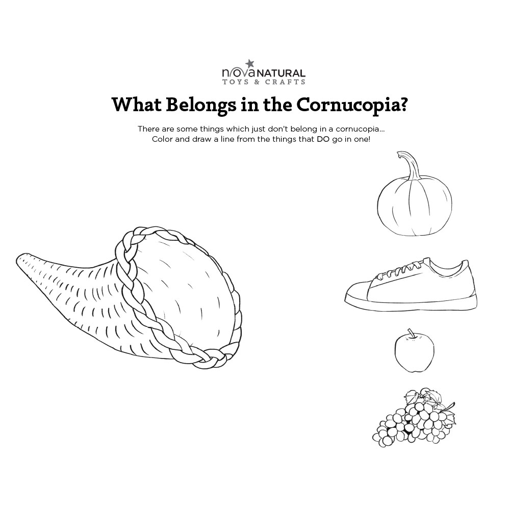 What Belongs in the Cornucopia?