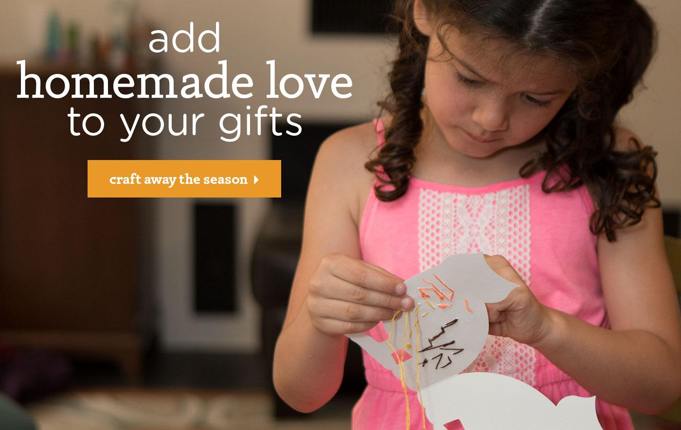 Add Homemade Love to Your Gifts