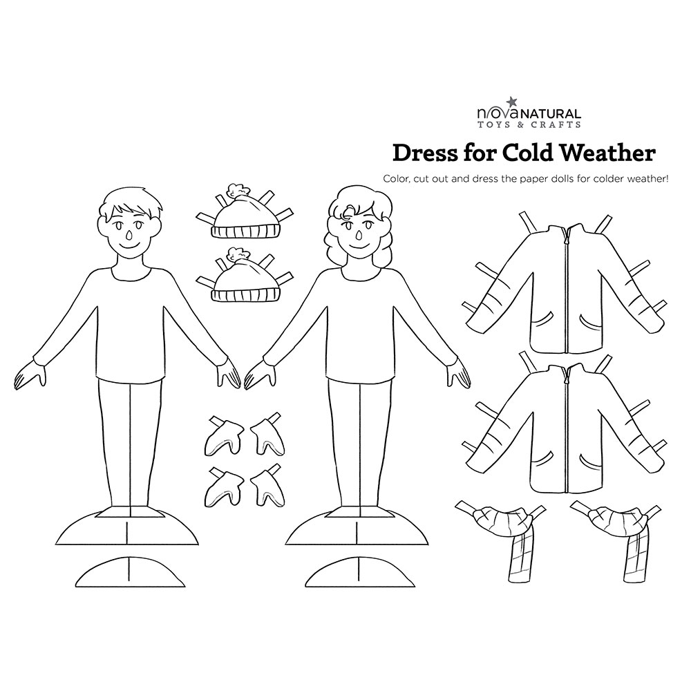 Dress Dolls For Colder Weather