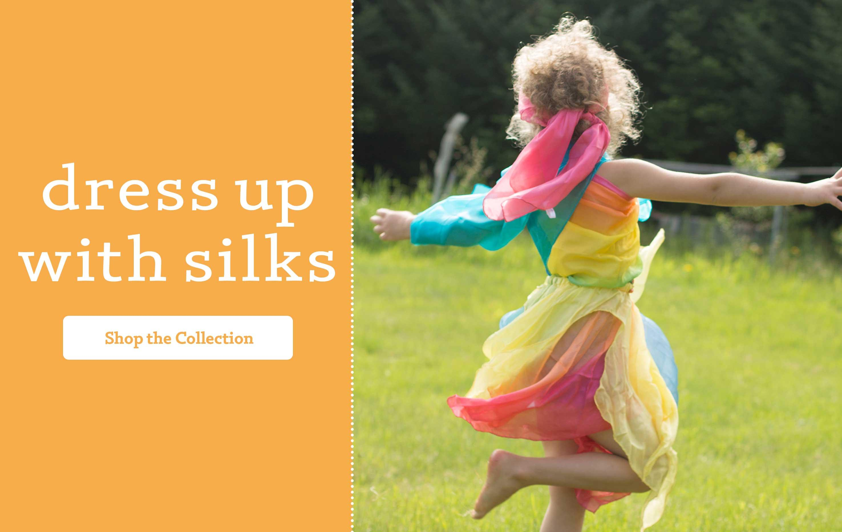 dress up with silks