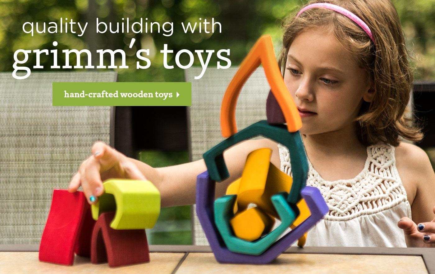 Quality Building With Grimm's Toys