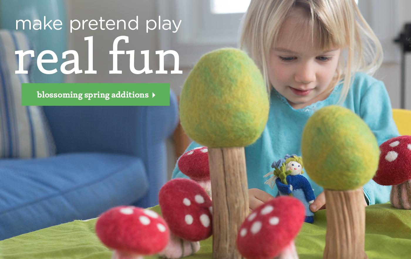 make your pretend play real fun