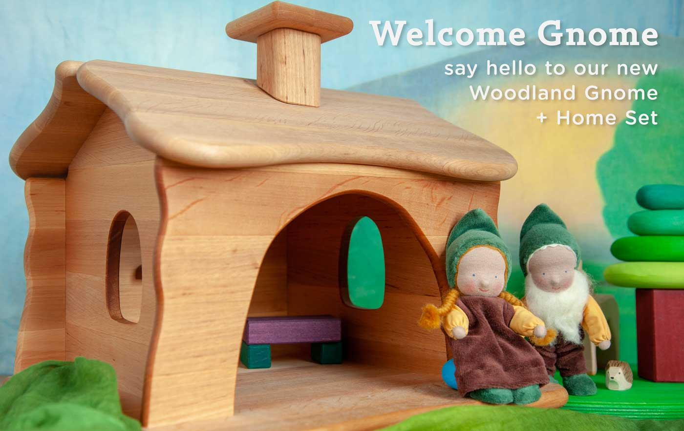 Welcome Gnome: Say Hello to our New Woodland Gnome + Home Set