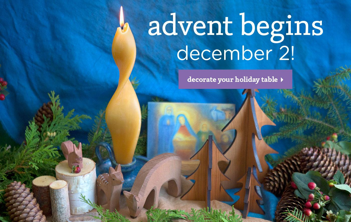 Advent Begins December 2!