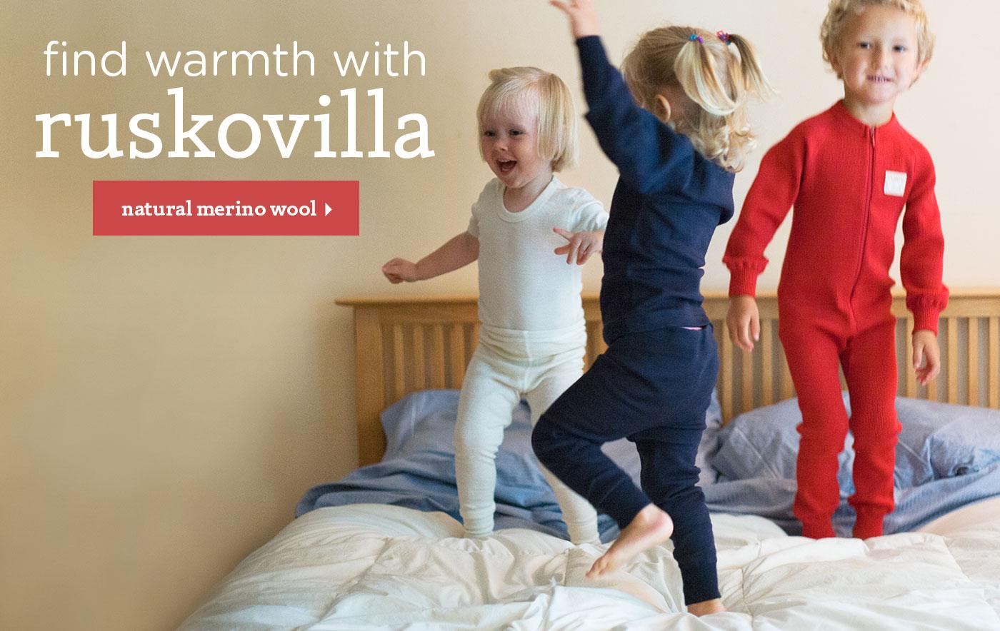 Find Warmth with Ruskovilla