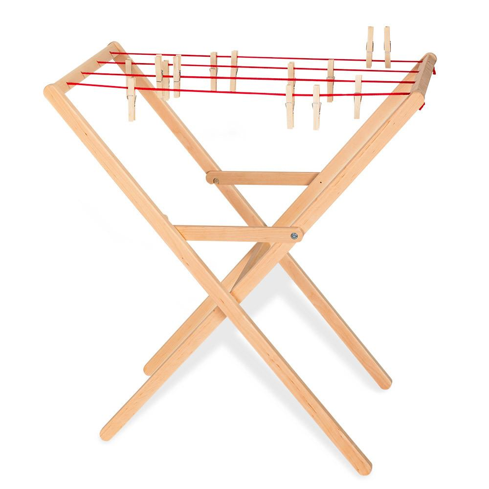 wooden rack plans laundry fold charming designs folding made amazon drying clothes away for