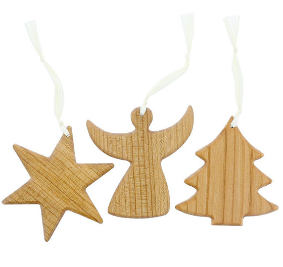 wooden holiday ornaments - Wooden Christmas Ornaments